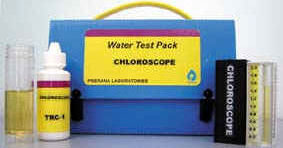 Test pack for Residual chlorine
